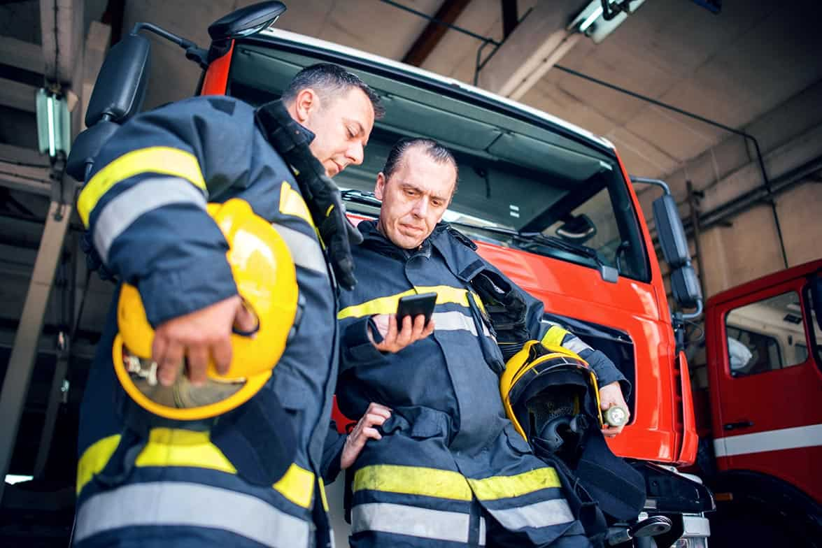 Mass notification system for first responders